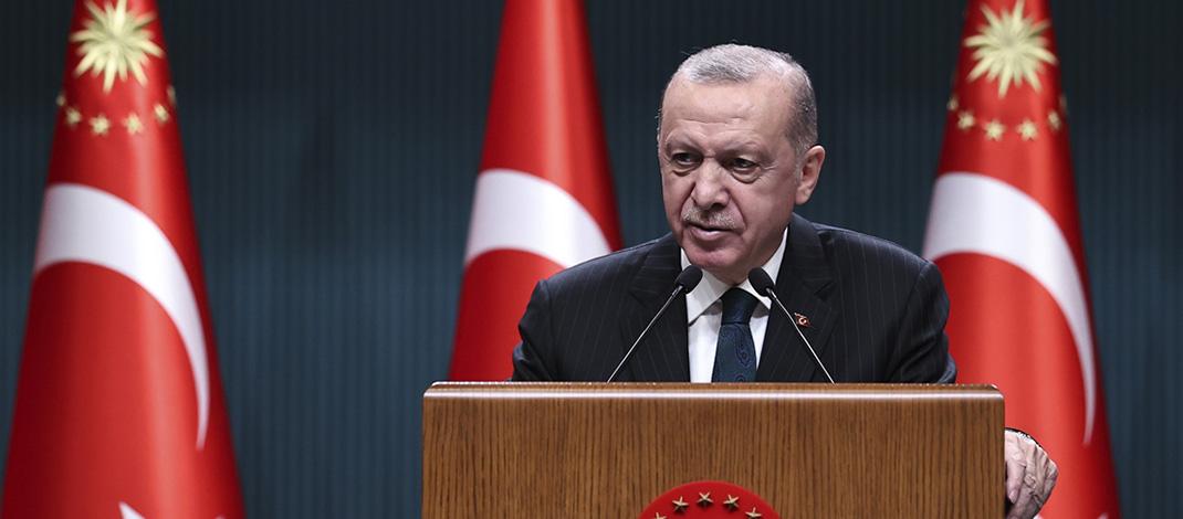 Cumhurbaşkanı Erdoğan: Milli gelirimizi Orta Vadeli Program dönemi sonunda 1 trilyon dolar seviyesine taşıyacağız
